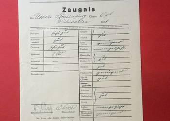 ( 590 ) Dokument niemiecki