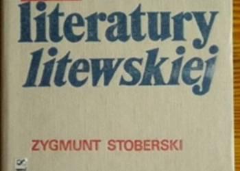 Historia literatury litewskiej (Stoberski)