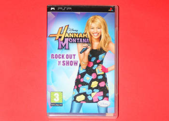 Hannah Montana: Rock Out The Show (PlayStation Portable | PS
