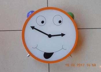 Kinkiet ścienny plafon sufitowy dla dziecka dziecięcy ZEGAR