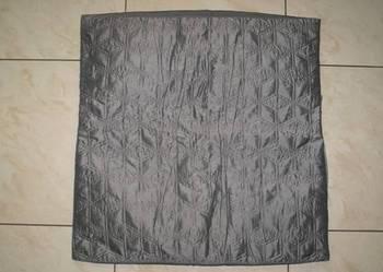 Używana pikowana poszewka na dużą poduszkę 60 cm x 60 cm