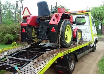 Transport maszyn rolniczych Mrozy laweta pomoc drogowa 24h