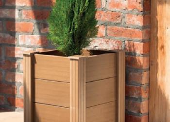 donica z kompozytu drewna 40/40 WPC