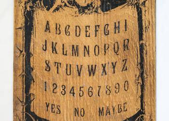 Tablica Ouija wywoływanie duchów halloween plansza spirytyz