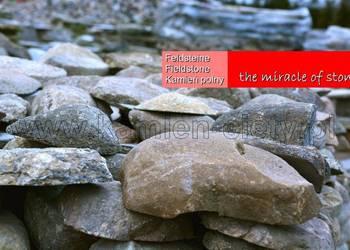 Lico z kamienia polnego - kamień polny cięty