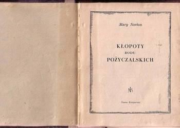 (0355) KŁOPOTY RODU POŻYCZALSKICH – MARY NORTON