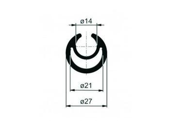 Profil do napinania plandeki 27-3300mm AL.
