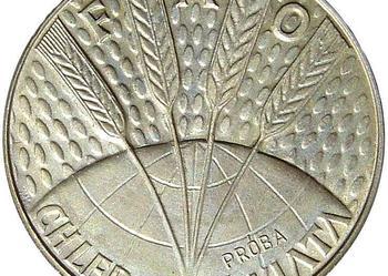 FAO - Chleb dla Świata 10 Złotych 1971 r PRÓBA