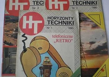 Czasopisma HORYZONTY TECHNIKI - 1980 rok