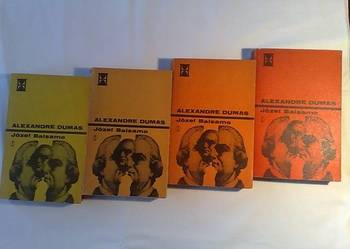Aleksander Dumas: Józef Balsamo, 4 tomy