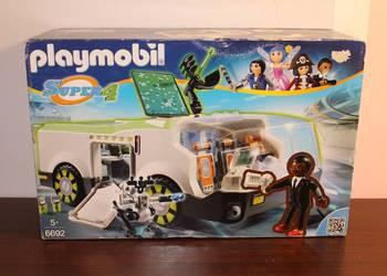 Playmobil Super 4 Kameleon Techno z agentem Gene