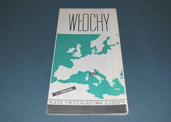 Włochy Mapa Wyd z 1966r Starocia