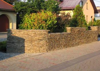 Kamień murowy - łupek szarogłazowy