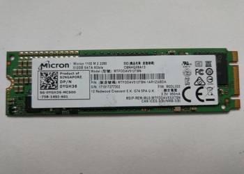 Dysk SSD Micron 1100 na m2 512GB