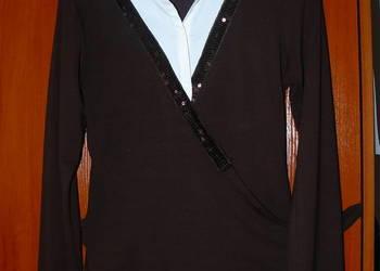 Elegancka brązowa bluzka