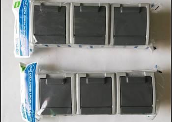 Elektroplast GNT-3x2P+z Gniazdo potrójne z uziemieniem AQUAN