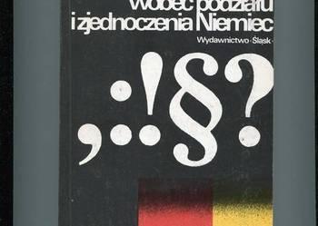 Wielkie mocarstwa wobec podziału i zjednoczenia Niemiec