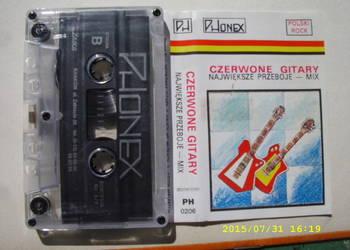 ROCK ,kaseta  ; CZERWONE GITARY--Najwieksze przeboje.