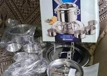 Garnki do fondue nowe fontanna czekoladowa, serowaTramontina