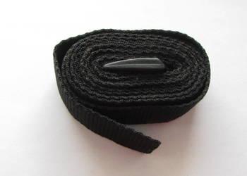 Pas trok z polipropylenu czarny 190 cm x 2,6 cm