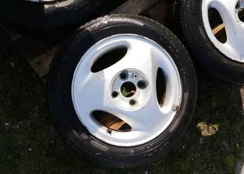 Alufelgi Ronal Opel Corsa B 14 cali , letnie opony, tanio !