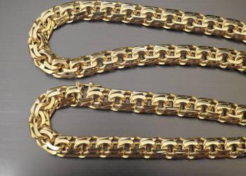 masywny złoty łancuch galibardi 585 14k