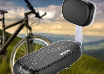 Siodełko dla dziecka z oparciem na bagażnik do roweru .