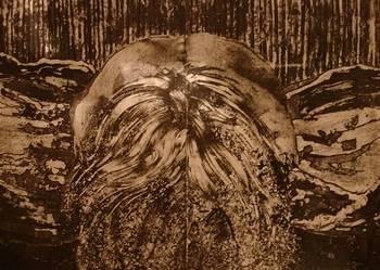 Sprzedam obraz z 1988 r. Dyptyk. Olej, płótno. 110 x 80 cm.
