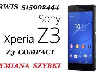 515902444 Sony Xperia Z Z1 XA Z3 Z5 wymiana naprawa szybka