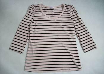 Orsay Pudrowa bluzka Marszczone rękawy 38 40