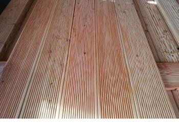 Deska tarasowa taras modrzew ogrodzenia