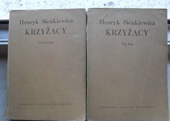 Krzyżacy tom 1 i 2 1953 rok - Henryk Sienkiewicz