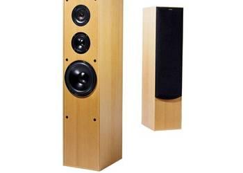 Jamo E430 kolumny podłogowe stereo trójdrożne  buk ideał