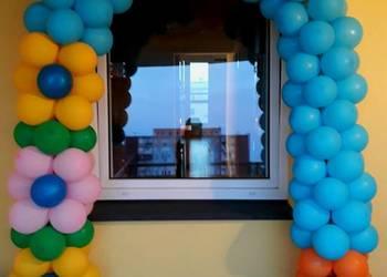 Brama z balonów, girlanda, łuk, dekoracje z balonó, balony