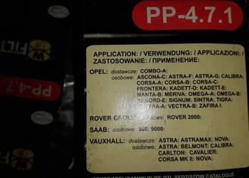 filtr oleju SĘDZISZÓW PP471 OP570 OPEL ROVER SAAB