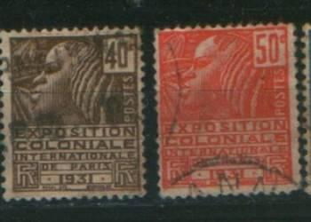 Zn. Francja Mi 257 - 60 kas 1930