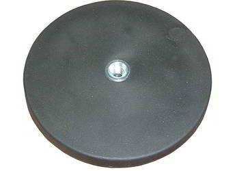 magnes neodymowy stały obud.z gumą śred.22mm 35N