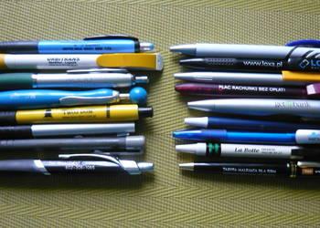 Długopisy 17 szt