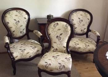 dwa fotele i krzesło II połowa XIX w. Oryginał