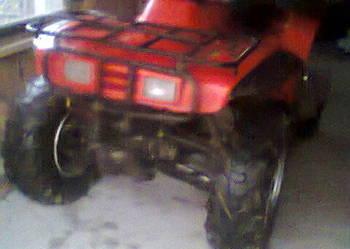 Honda trx 300  4x4 quad, atv + wyciągarka+ wzmocniona rama