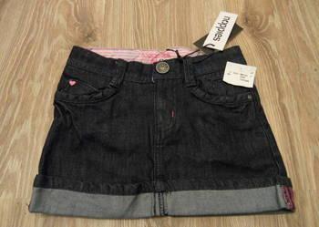 spódniczka jeans dżinsowa 122 NOWA + gratis POLECAM prezent