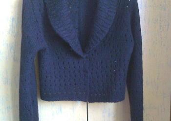 e47d5fbfcc Ażurowy rozpinany sweterek