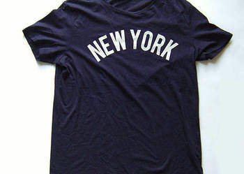 XL koszulka bawełna z napisem NEW YORK,sportowa koszulka XL