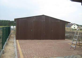 Garaz blaszany wiaty hale schowki budowlane prafil