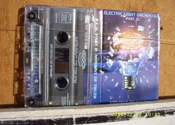ROCK ,kaseta ;ELECTRIC LIGHT ORCHESTRA .
