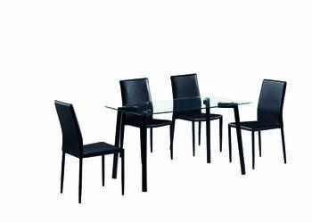 Krzesło NOWOCZESNE Designerskie KUCHENNE Black Friday
