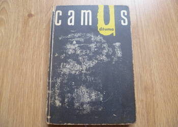 Dżuma Albert Camus 1965 ksiązka unikat