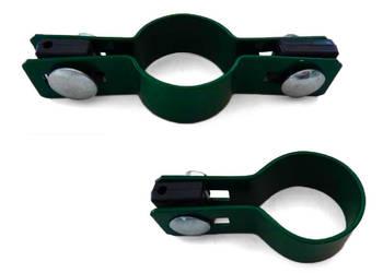 opaska obejma siatka panel Fi 38 zielone czarne szt=3,20zł!