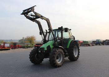 Ciągnik rolniczy Deutz - Fahr Agrotron 85 z ładowaczem
