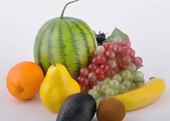 Sztuczna żywność - zestaw sztucznych owoców i warzyw nr 7